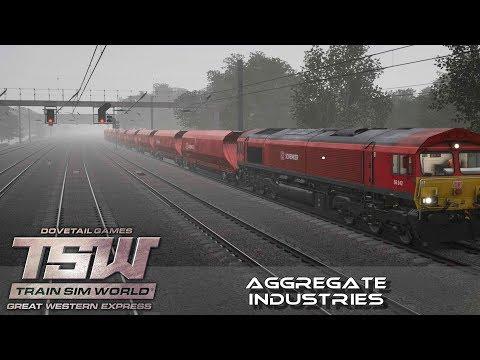Train Sim World ¦ Aggregate Industries ¦ Class 66