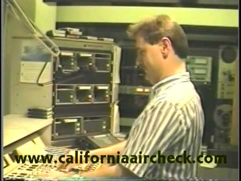 KXXX X-100 San Francisco Chuck Geiger 1991 California Aircheck Video