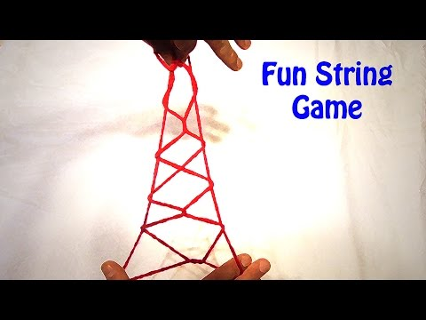 Learn How To Do The Eiffel Tower String Figure/String Trick - Step By Step