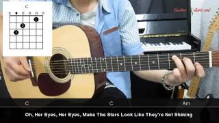 Dạy Học Guitar] [Đệm Hát] [Điệu Rock Ballad]   Just the way you are   Bruno Mars