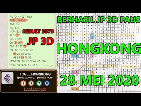 Result 3579 Jp 3D, Bocoran #paitojitu #hk 28/05/2020 | Tarikan Jitu | Wajib Jp
