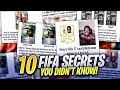 10 Fifa Secrets You Didn't Know!