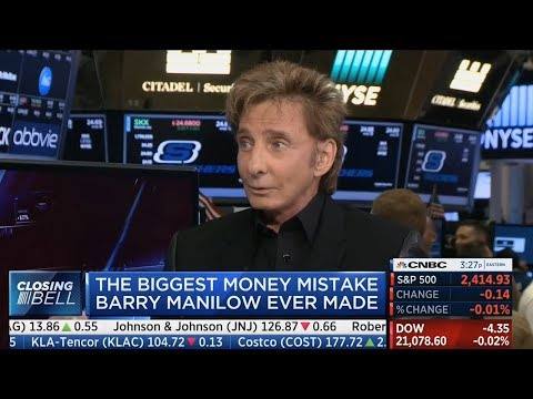 Barry Manilow NYSE Interview