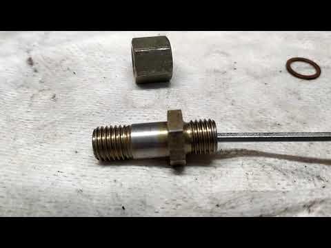 A6C4 клапан на обратке на ТНВД.
