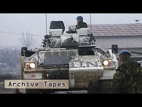 Bosnian War: How Was The British Army Involved? (1992 Documentary) | Forces TV