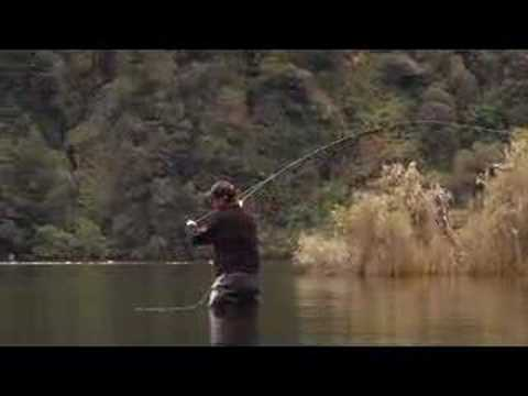 Fly Fishing DVD Video New Zealand. Movie Trailer DVD 'Once In A Blue Moon