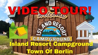 Island Resort Campground Neẁark MD - Town of Berlin MD Tour! 🏕🏛