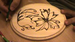 Basics And Tools Of Pyrography (how To Add Color For Your Wood Piece) Part 3