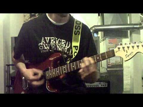 Bowling For Soup - 1985 guitar cover