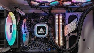 Corsair Crystal 570X w/ H150i PRO RGB Build - ASRock Taichi Z370 / i7-8700K