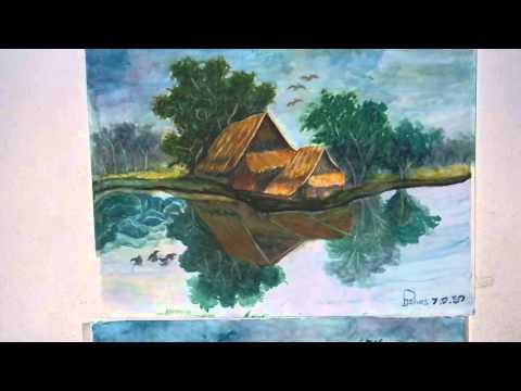 ภาพวาดสีน้ำ