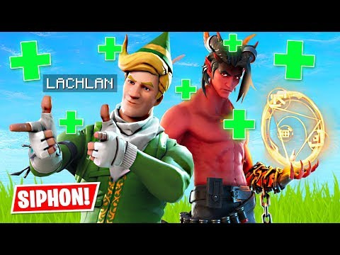 SIPHON IS BACK!! Duos w/ Lachlan! (Fortnite Battle Royale)