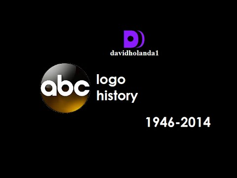 history of abc american broadcasting company logos 1946