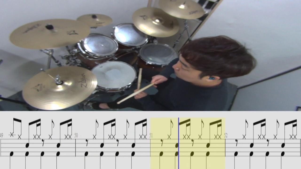 박상민-순서(Drum Cover)고급버젼