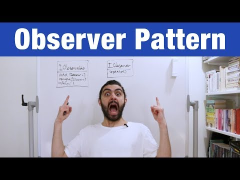 Observer Pattern – Head First Design Patterns (ep 2)