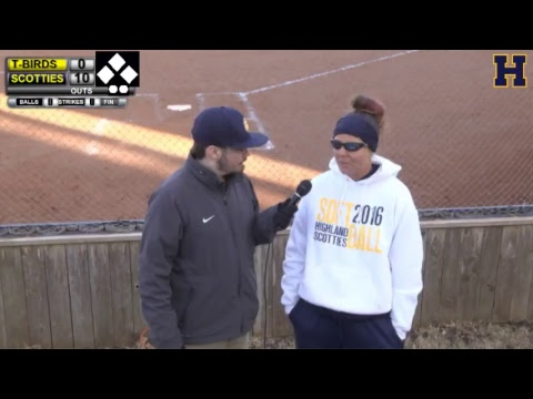 Softball: Highland Community College vs. Cloud County CC - Game 2