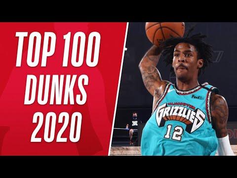Top 1️⃣0️⃣0️⃣ Dunks From 2020