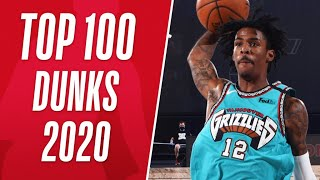 Top 1️⃣0️⃣0️⃣ Dunks From 2020