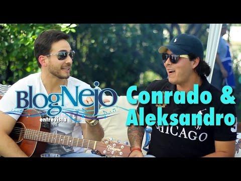 Conrado e Aleksandro entrevista para o Blog