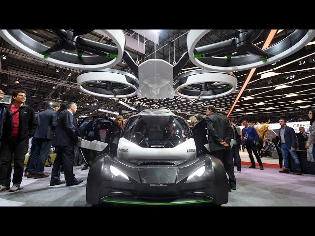 Futuristic flying concept car aims to relieve traffic congestion