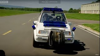 Police Car Challenge Part 1 (HQ) - Top Gear - BBC