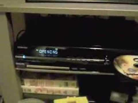 Unboxing: Toshiba HD-EP30 HD DVD Player