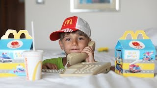 McDonald's Happy Meal by Phone ?
