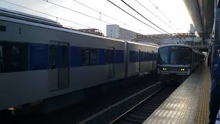 【JR西日本】 2021.4.10 都営地下鉄三田線6500形 6502F8両 近畿車輛出場甲種輸送 9866レ 京都駅通過