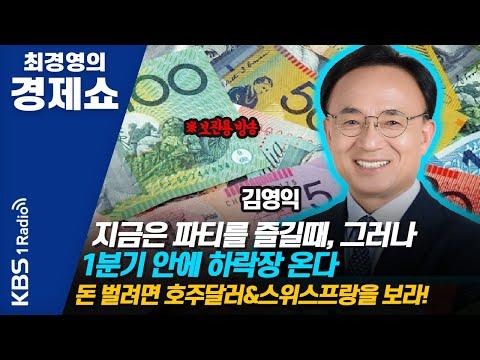 [최경영의 경제쇼] 김영익 / 지금은 파티를 즐길때, 그러나 1분기 안에 하락장 온다