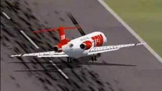 Fokker 100 and Crosswinds (FS2002)