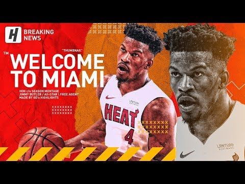 Jimmy Butler Traded to Miami HEAT! BEST Highlights & Moments from 2018-19 NBA Season!