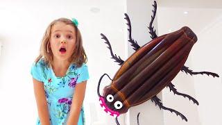 Katy y Max y la historia de la cucaracha