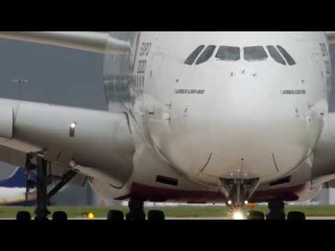 Airliners in motion - cleared for takeoff