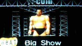WWF Wrestlemania 2000-Big Show's entrance