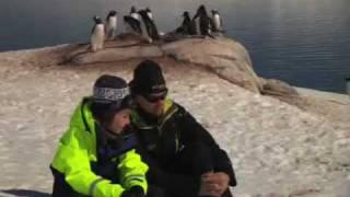 Cronin Wilkes and Ice Axe Kids in Port Lockroy Antarctica