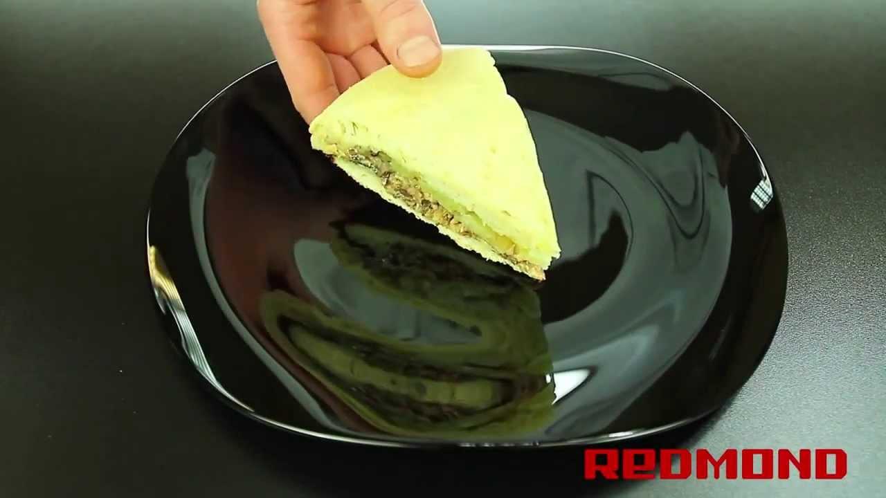 Пирог с рыбой в мультиварке Redmond RMC-M4504 - YouTube