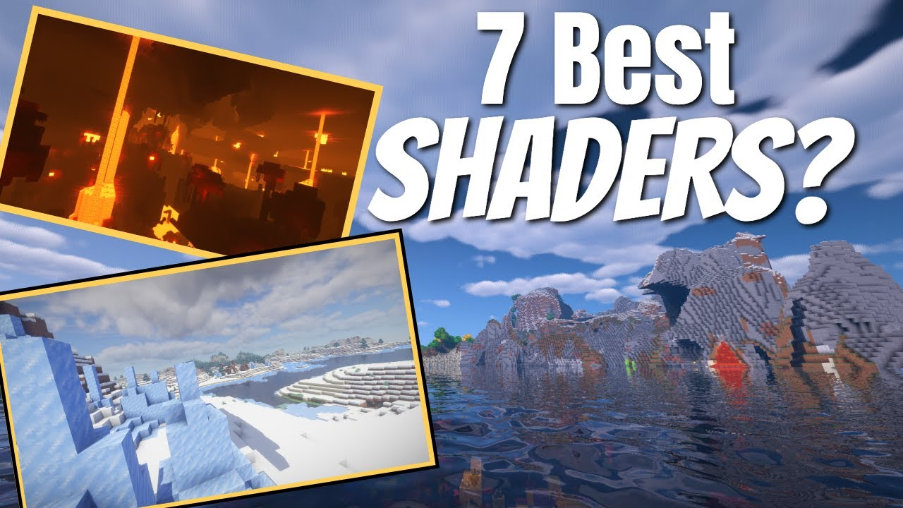 Top 7 Minecraft Shaders Compared | What is the best Shader in Minecraft Survival? (2021)