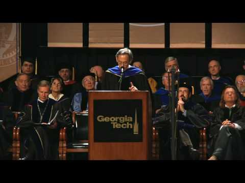 Steven Chu Addresses Georgia Tech Graduates