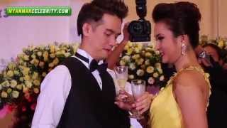 Repeat youtube video Wedding Dinner Reception of Ye Lay & Aye Mya Aung