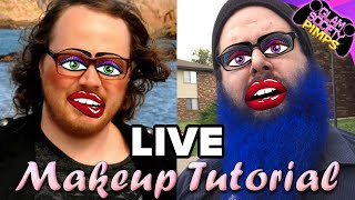 Make-up Tutorial - That Chic Homeless Look - Glam Society Pimps Live