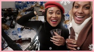 CHRISTMAS PARTY INVITE WITH MORGAN! VLOGMAS DAY 6