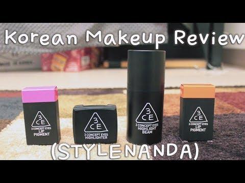 Korean Makeup Review (STYLENANDA)
