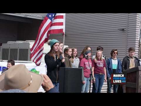 March For Our Lives - Bozeman 3-24-2018