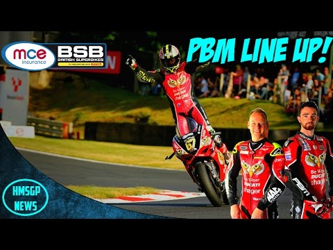 British Superbikes: PBM Ducati Announce There 2017 Line Up!