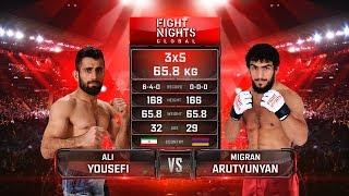 Migran Arutyunyan vs. Ali Yousefi / Мигран Арутюнян vs. Али Юсефи