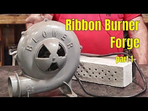 Ribbon burner forge build - part 1 - introduction