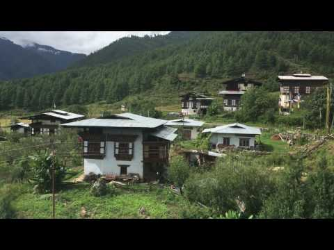 Luxury Bhutan Hotel - View from the Taktsang View Resort and Spa