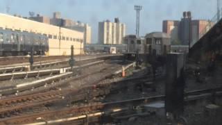 Passing through the Coney Island Yard on an R160B (N) train