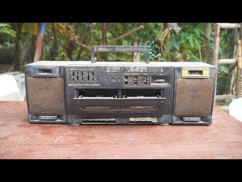 Restoration Old Vintage Radio | rescue discarded equipment