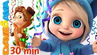 Download 🍭 Baby Songs | Nursery Rhymes for Babies | Dave and Ava 🍭 Mp3 and Videos